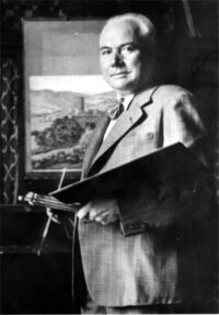 Alfred Holler um 1950