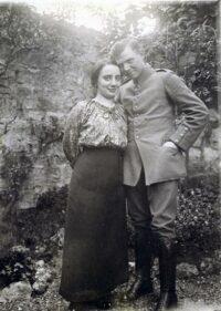 Alfred Holler um 1914